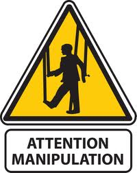 Manipulation Warning Sign